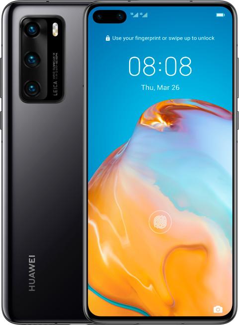 "Smartphone 6.1"" Huawei P40 5G - full HD+, Kirin 990, 8 Go de RAM, 128 Go, différents coloris, sans services Google"