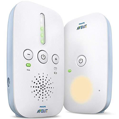 Babyphone Philips Avent SCD503/26 DECT - Mode Smart ECO, très longue portée, Blanc