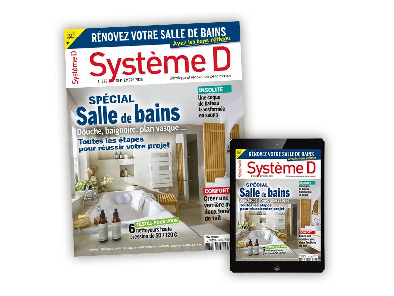 Abonnement annuel au magazine papier et numérique Système D (Dématérialisé) - systemed.fr