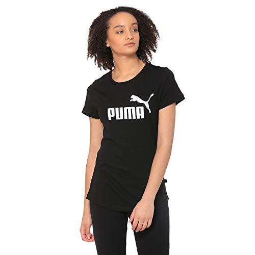 T-Shirt Puma Ess Logo Tee pour Femme - Plusieurs coloris/Tailles