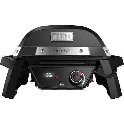 Barbecue électrique Webber Pulse 1000 - noir (jusqu'à +124,75€ en Rakuten Points)