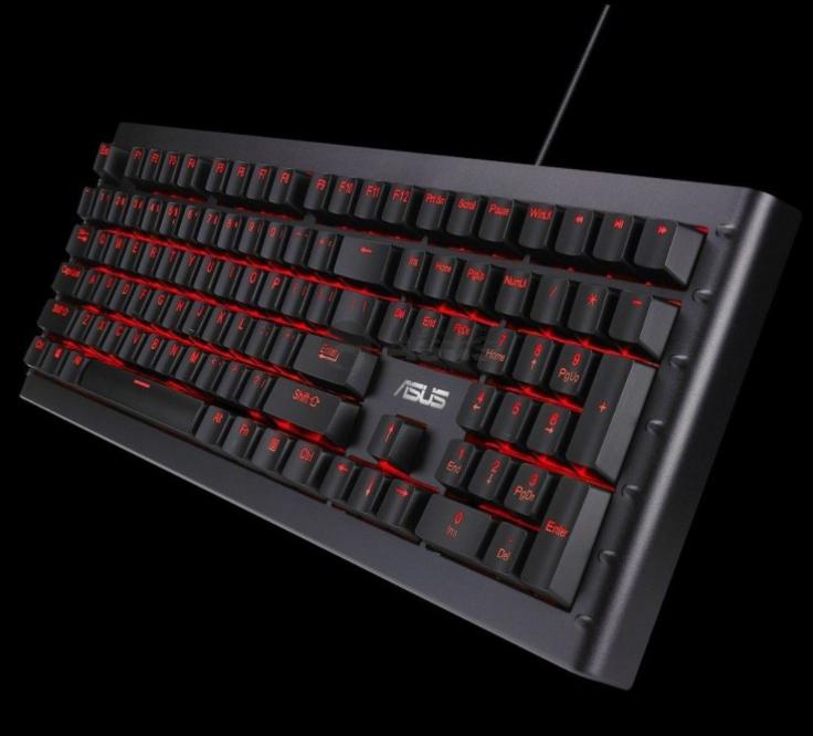 Clavier gamer filaire Asus ROG GK1100 - Rétroéclairage RGB, Azerty