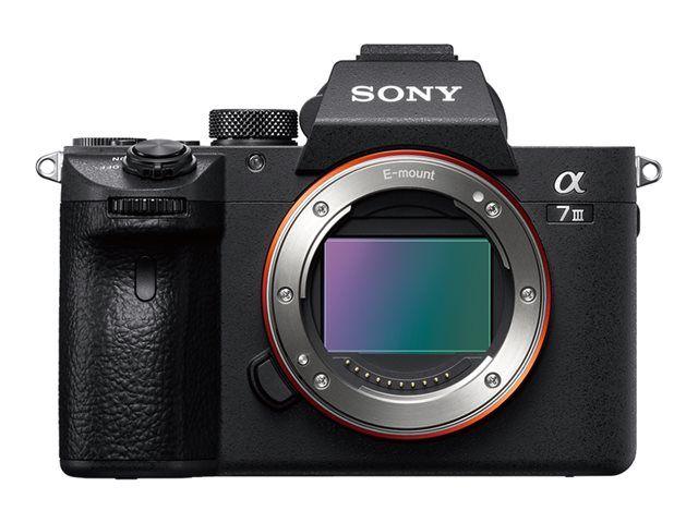 Appareil photo Sony A7 III ILCE-7M3 - Boîtier nu (+75€ en Rakuten Points)