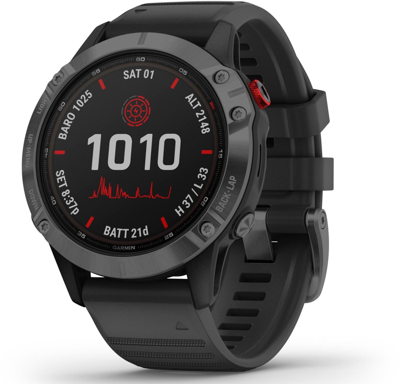 Sélection de montres connectées Garmin Fénix 6 SOLAR en promotion - Ex : Garmin Fenix 6 Pro Solar (beige ou noir)