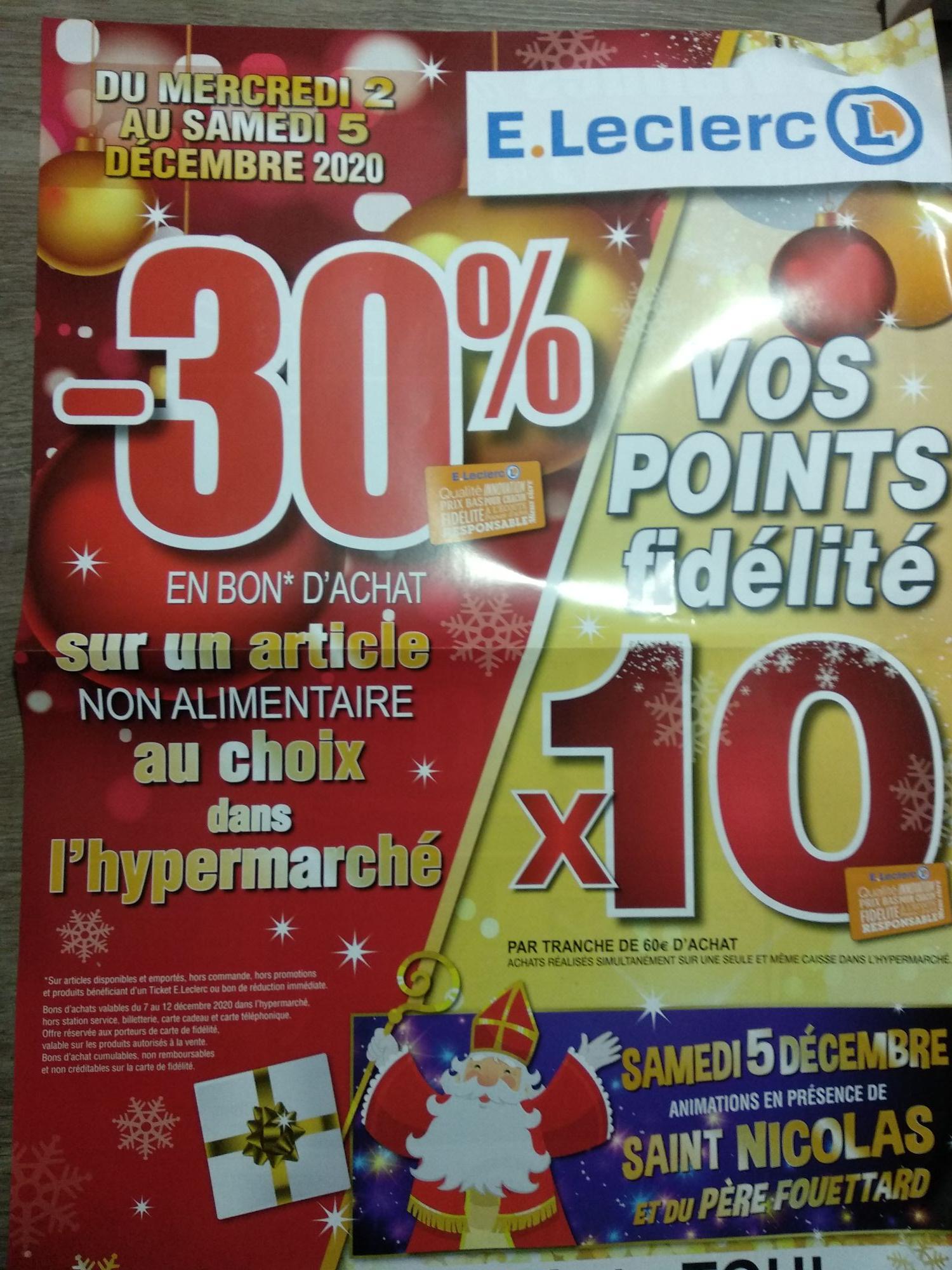30% offerts en bon d'achat sur un article de votre choix - Dommartin les toul (54)