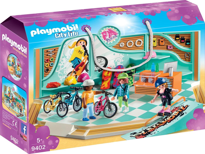 Jouet Playmobil - Bike & Skate shop n°9402