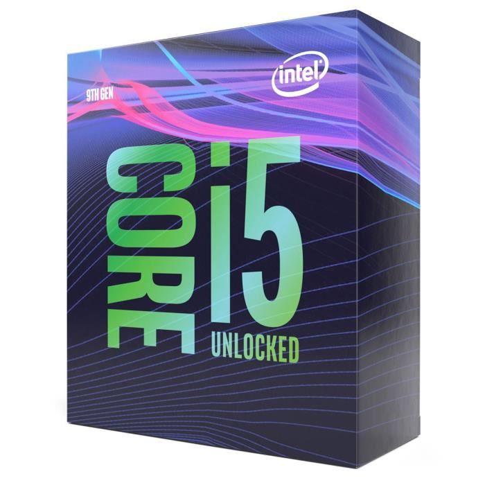 Processeur Intel I5-9600K - 3.7Ghz, LG 1151