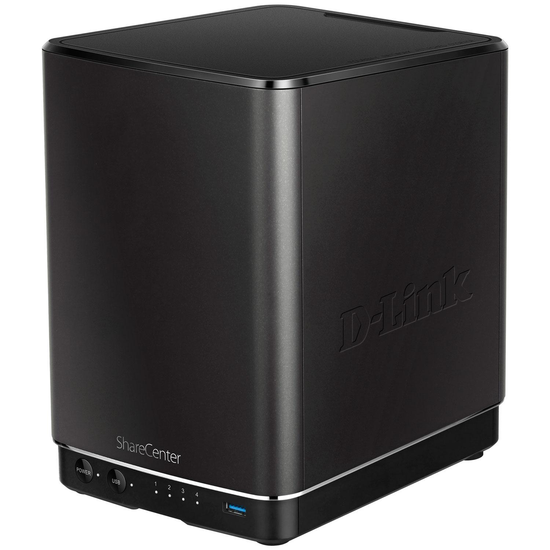 Boîtier de stockage réseau Cloud D-Link DNS-340L - 4 baies