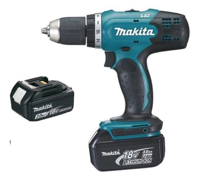 Coffret Perceuse visseuse Makita DDF453SFE - 18V 3.0Ah, 2 batteries, Chargeur