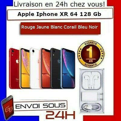 "Smartphone 6.1"" Apple iPhone XR - full HD Retina, A12, 3 Go de RAM, 64 Go(Reconditionné)"