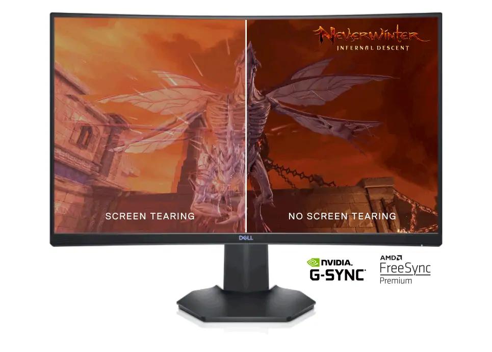 "Écran PC 27"" Dell S2721HGF - FHD, 1ms, 144hz, VA"