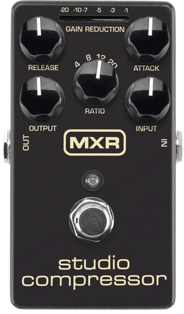 Pédale MXR Studio Compressor M76