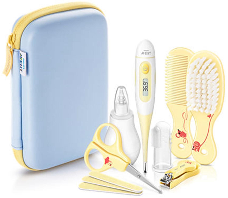 Trousse de soins pour bébé Philips Avent SCH400/00 - 10 accessoires