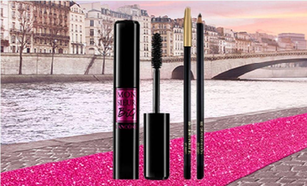 1 article acheté parmi une sélection = 1 article offert - Ex : mascara Monsieur Big + crayon Khôl offert
