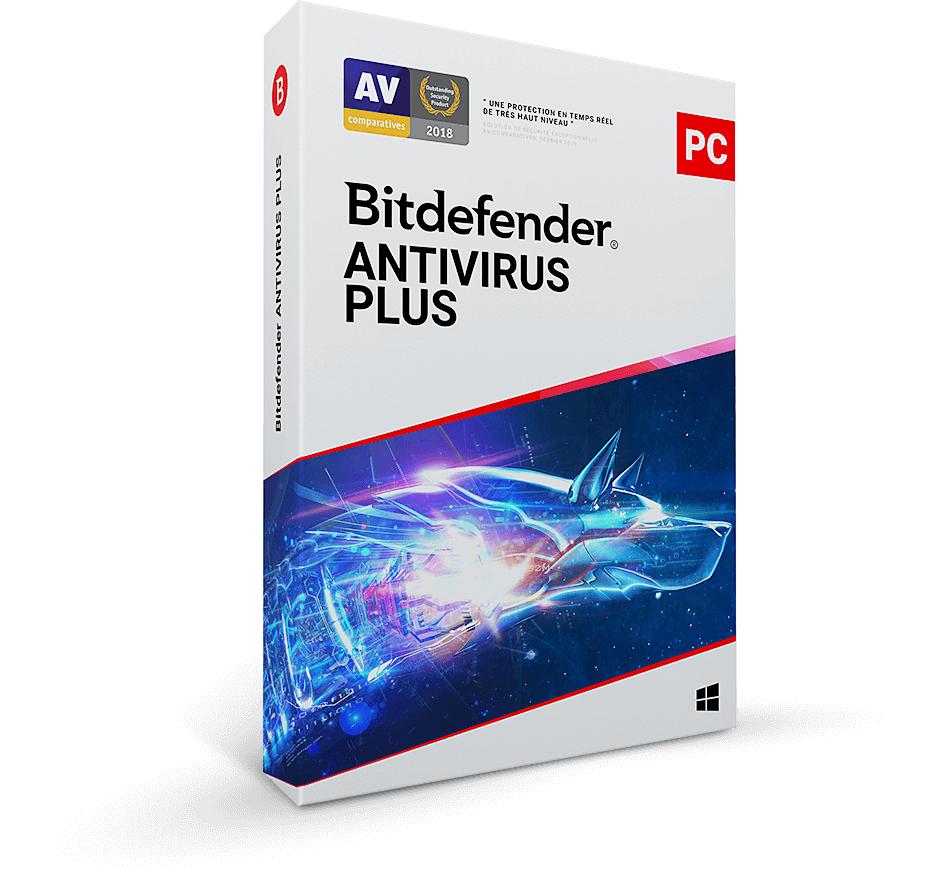 Sélection d'abonnements anti-virus Bitdefender en promotion (Dématérialisés) - Ex: Bitdefender Antivirus Plus (3 appareils / 1 an)
