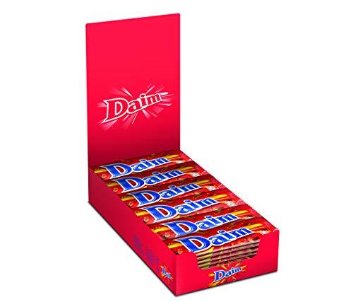 Boîte de 36 barres de chocolat Daim aux éclats de caramel