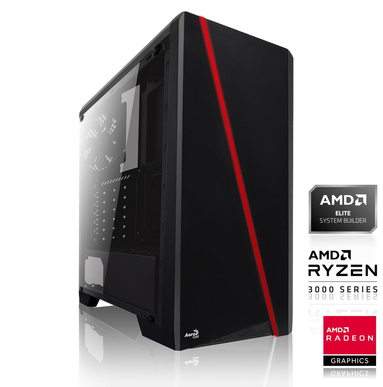 PC Gaming - Ryzen 3 3100, 16 Go RAM, RTX 3060 Ti 8 Go, 240 Go SSD, Alim. 650W, sans OS