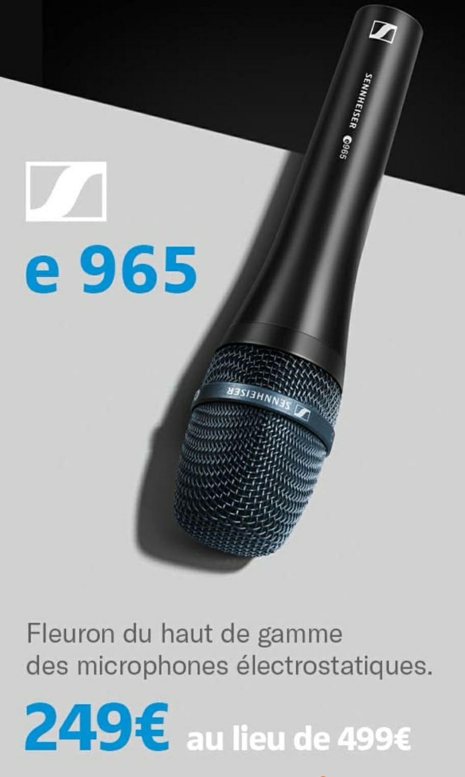 Micro Sennheiser E965