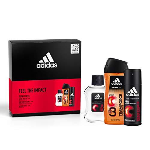 Coffret adidas - eau de toilette (100 ml) + gel douche (250 ml) + déodorant (150 ml) + bon de 15€ dès 40€ d'achat sur adidas.fr