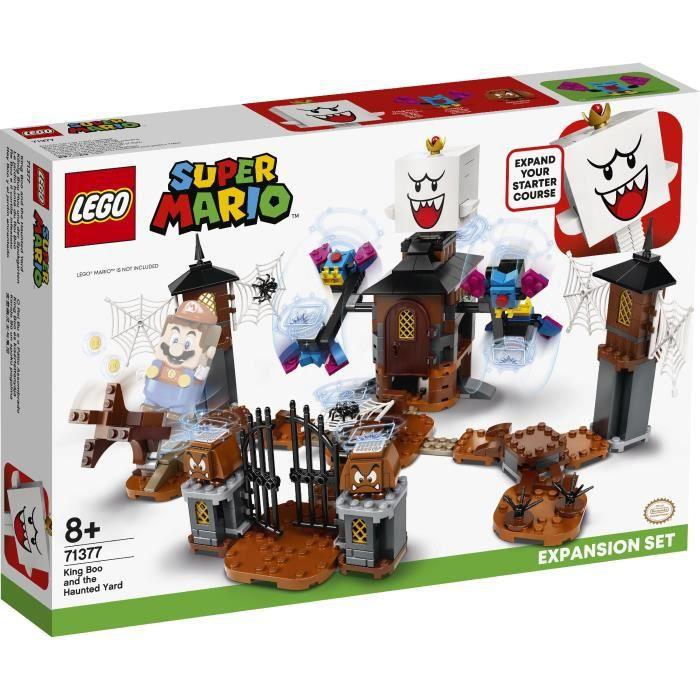 Pack d'extension Lego Super Mario 71377 - Le Jardin Hanté du Roi Boo