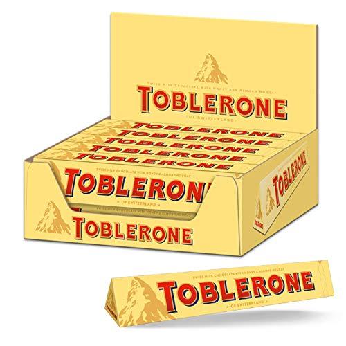 Pack de 20 Toblerone Chocolat au lait - 2Kg (Vendeur tiers)