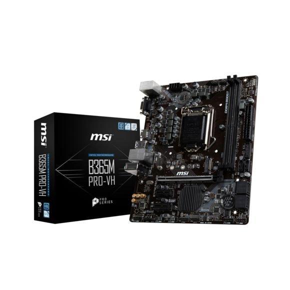 Crate mère MSI Intel B365 PRO-VH (Micro-ATX)