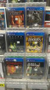 Sélection de jeux PS4 (Alien Isolation, The Evil Within, Arcania...)