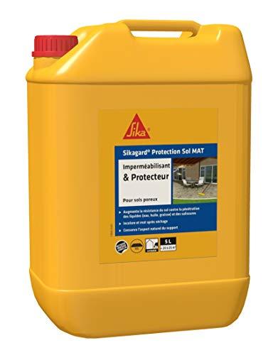 Imperméabilisant Hydrofuge Sikagard Protection Sol MAT - 5L