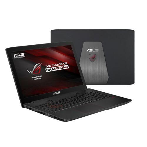"PC Portable 15,6"" Asus ROG GL552JX-DM390T - Full HD, Intel Core i5-4200H, HDD 1 To + SSD 128 Go, RAM 6 Go, NVIDIA GeForce GTX 950M 2 Go"