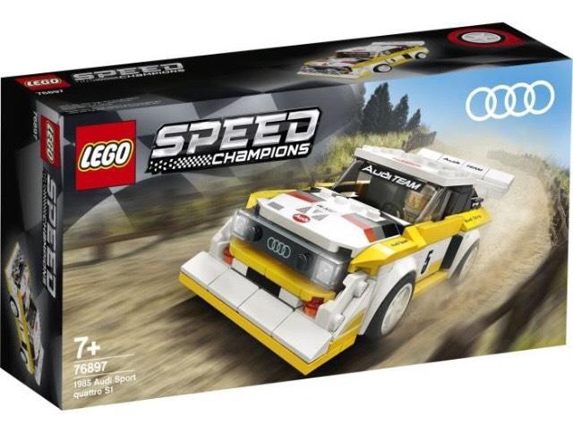 Jeu de construction Lego Speed Champions - 1985 Audi Sport Quattro S1 n°76897