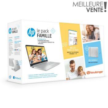 "PC Portable 15"" HP 15s-fq1032nf - i3-1005G1, 8 Go de Ram, 512 Go SSD + Housse + Office 365"