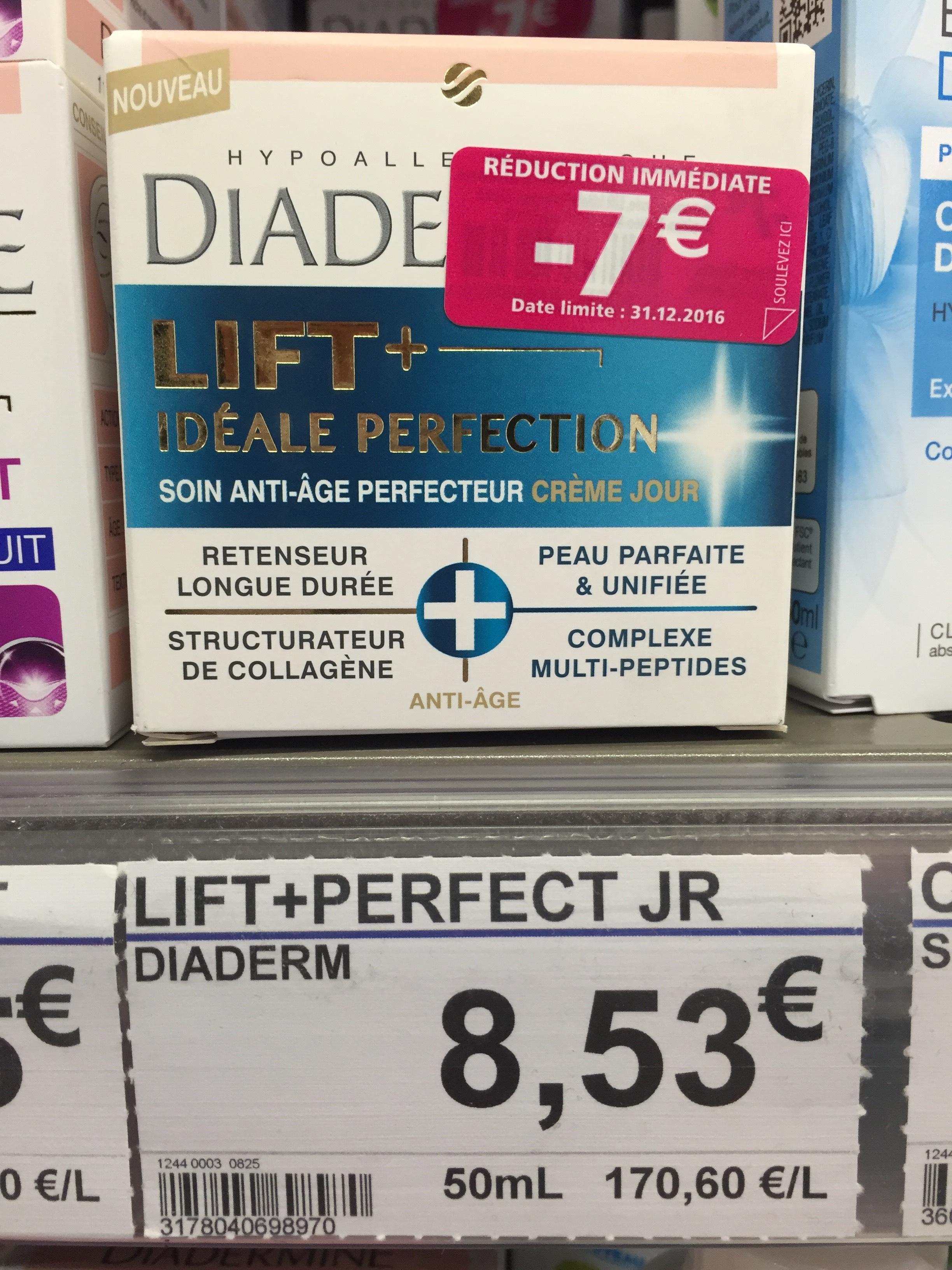 Crème anti-ride Diadermine Lift+ Idéale Perfection