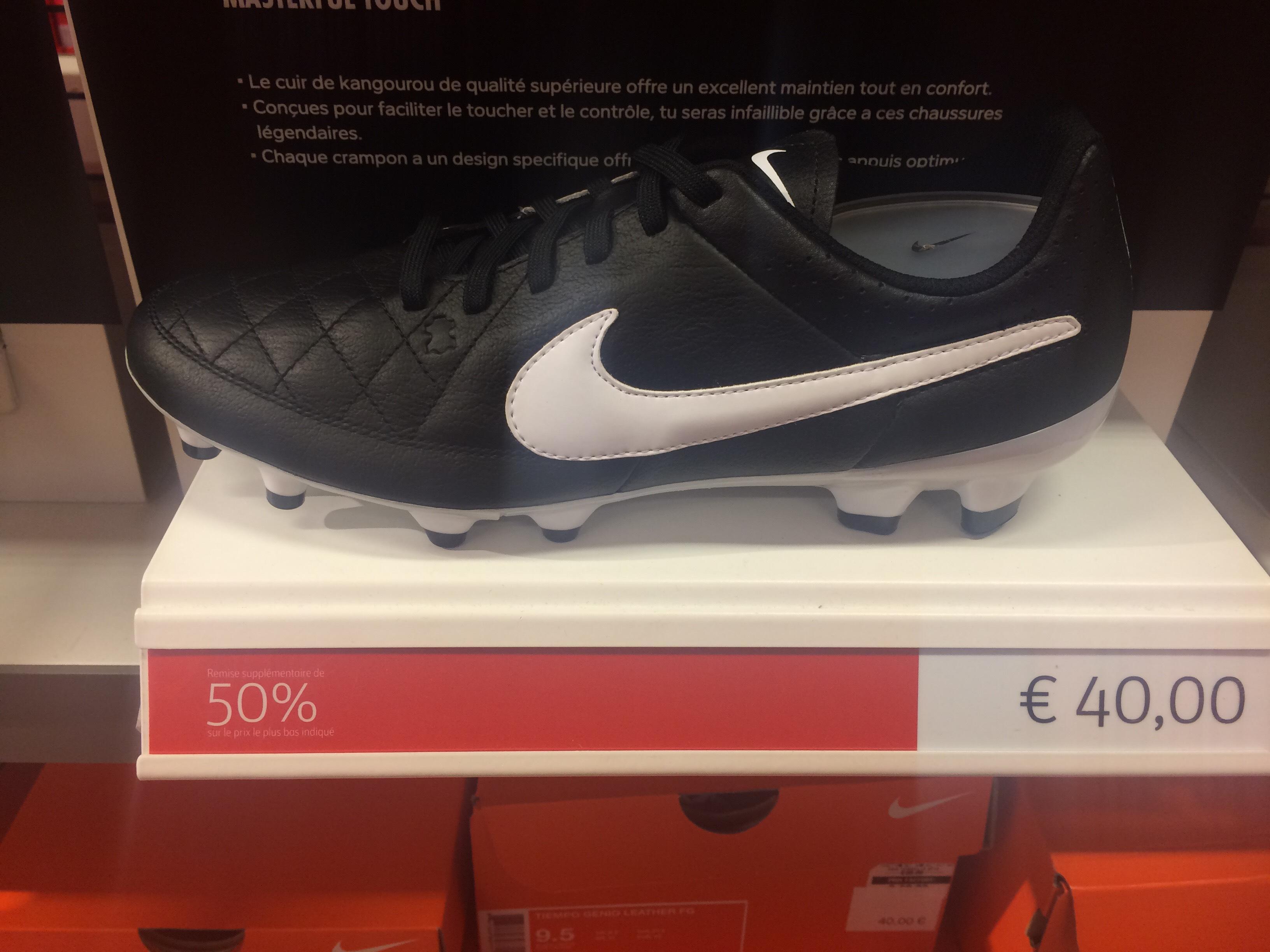 Chaussures foot Nike Tiempo - Plusieurs modèles