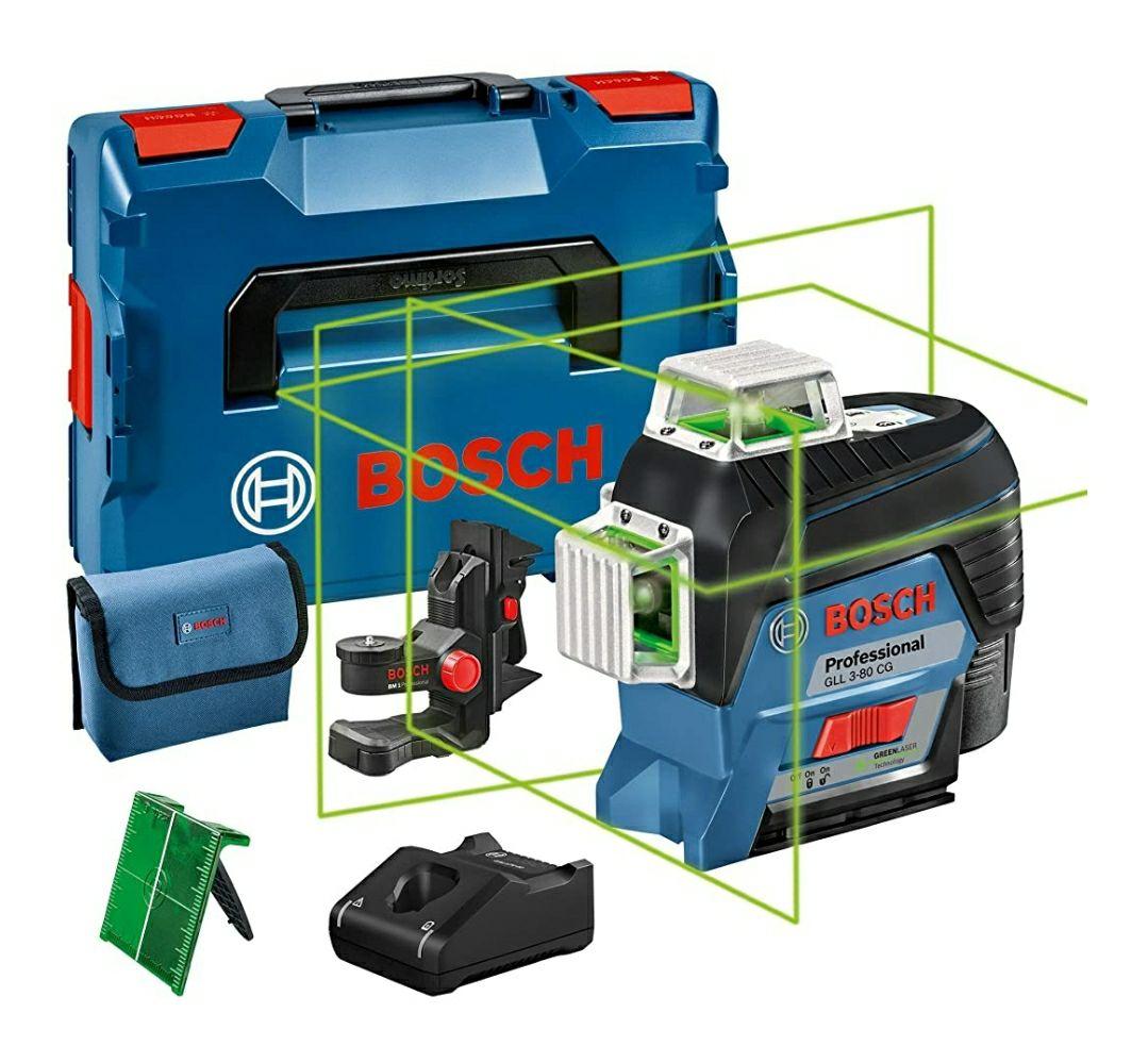 Niveau Laser Lignes Bosch Professional 12V GLL 3-80 CG
