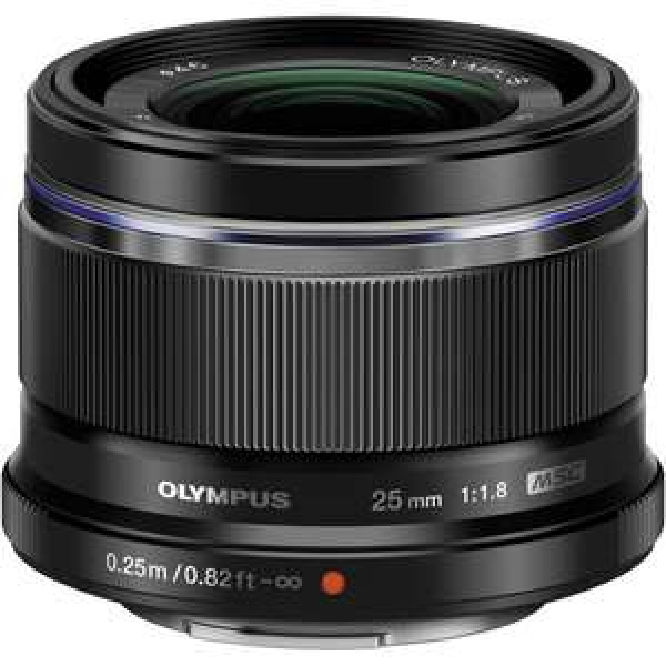Objectif photo Olympus 25mm f/1.8 (via ODR de 75€)