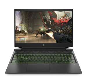 "PC portable 16.1"" full HD HP Pavilion Gaming 16-a0076nf - i7-10750H, RTX-2060 Max-Q (6 Go), 16 Go de RAM, 512 Go en SSD, Windows 10"