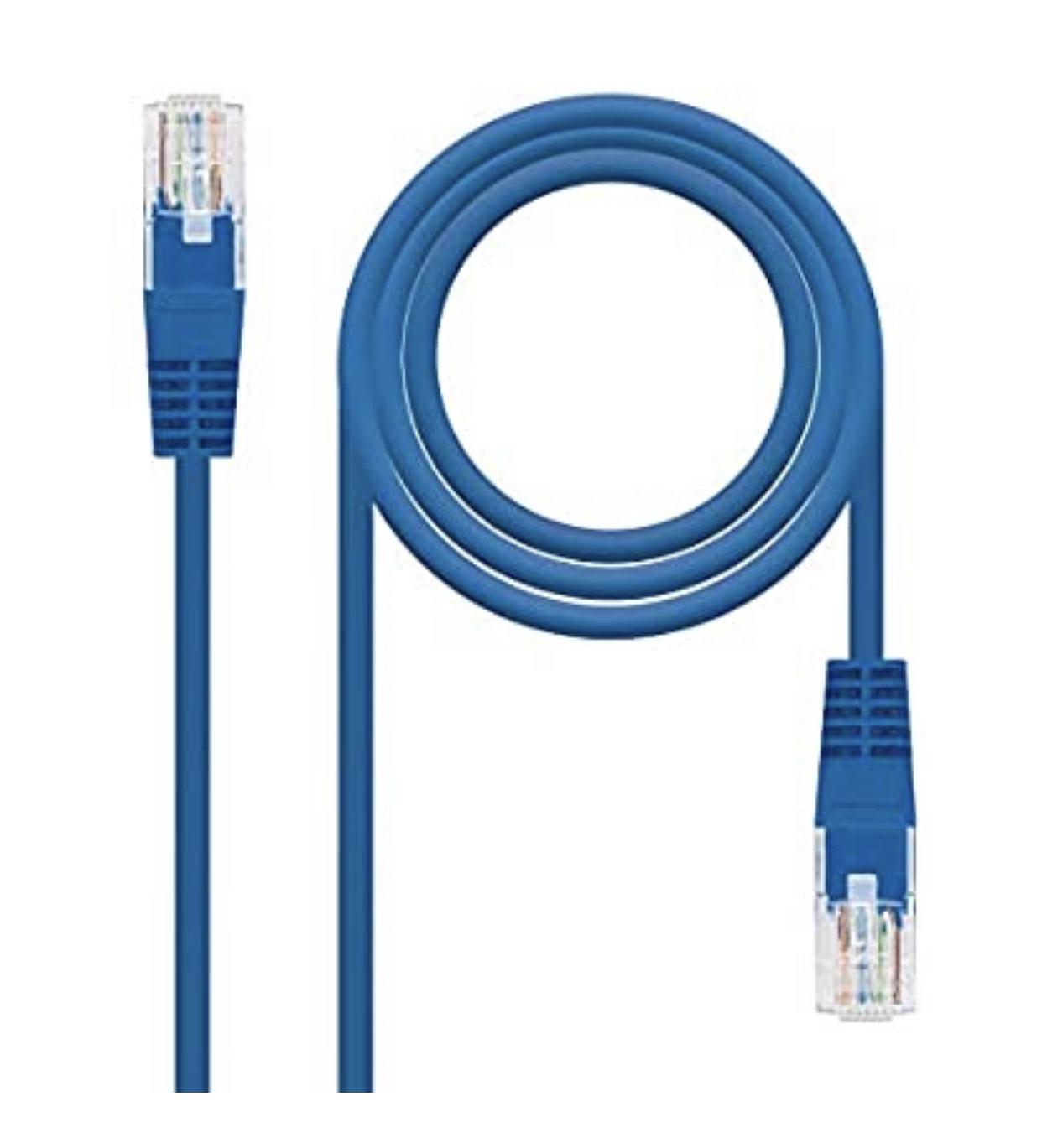Câble Ethernet RJ45 Nano Cable 10.20.0103-W - 3 mètres, Cat.5e, UTP, AWG24