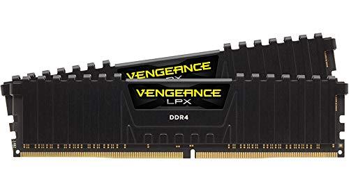 Kit mémoire DDR4 Corsair Vengeance LPX 16 Go (2 x 8 Go) - 3200 MHz, CL16 (CMK16GX4M2B3200C16)
