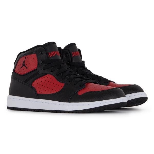 Sneakers Homme Jordan Access - Noir/Rouge, Tailles au choix