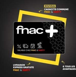 [Nouveaux Clients] Abonnement d'un an à la carte Fnac+ à 4.99€ (0€ pour les adhérents Fnac) pour tout achat d'un produit