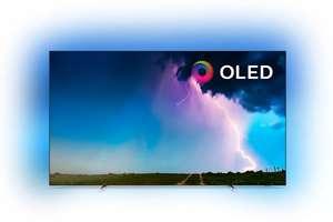 """TV 55"""" Philips 55OLED754/12 - OLED, 4K UHD, HDR 10+, Dolby Vision/Atmos, Ambilight 3 côtés, Smart TV (Dans une sélection de magasins)"""