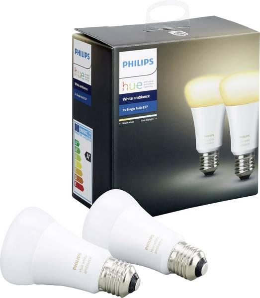 Pack de 2 Ampoules White Ambiance - E27 (Saumur - 49)