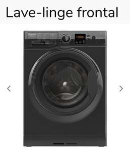 Lave Linge Frontal Hotpoint NS843CBKFR - 8 kg, A+++ (Drive)