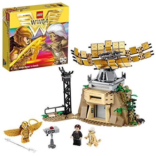 Jeu de Construction Lego Wonder Woman vs Cheetah DC Comics