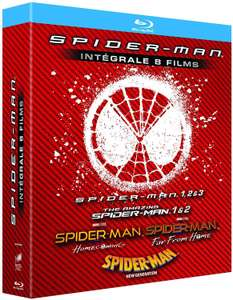 Spider-Man Integrale 8 Films [Blu-Ray]