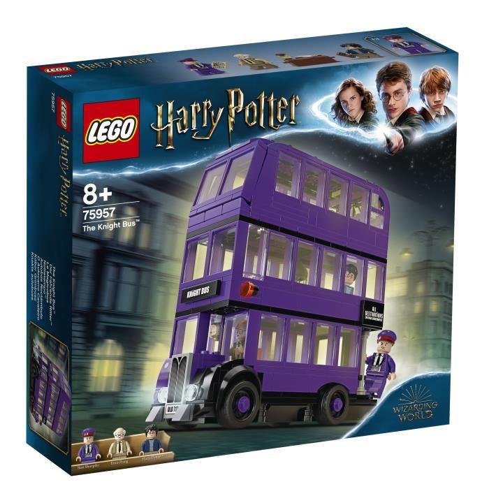 Jeu de construction Lego Le Magicobus Harry Potter Bus Violet à 3 Niveaux n°75957