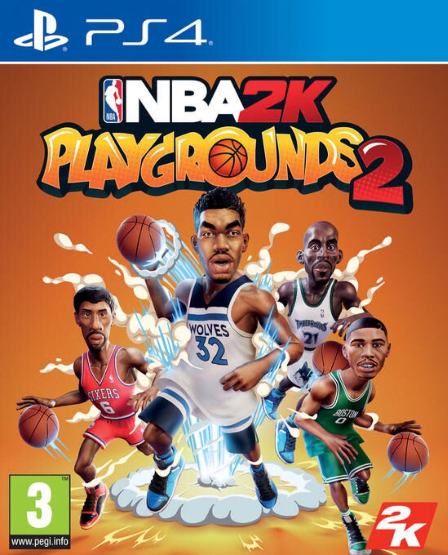 NBA 2K Playgrounds 2 sur PS4