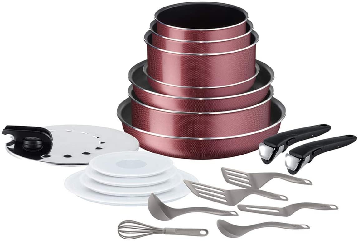 Batterie cuisine Tefal Ingenio Essentiel - 20 pièces