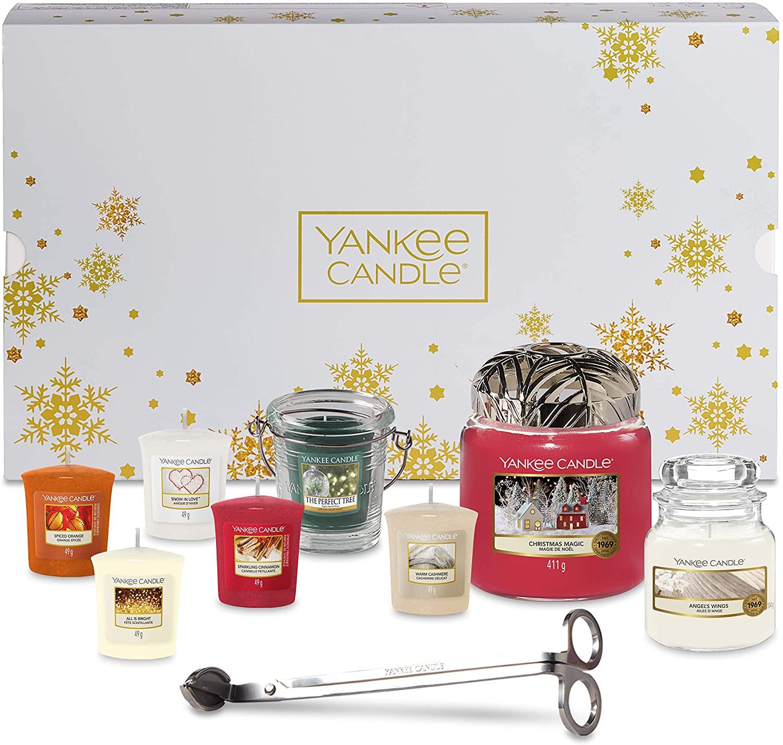 Coffret de noël Yankee Candle - 11 pièces