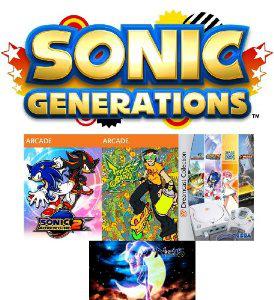 Dreamcast Pack Ultime : 5 jeux PC dématérialisés (Sonic Generations, DreamCast Collection...)